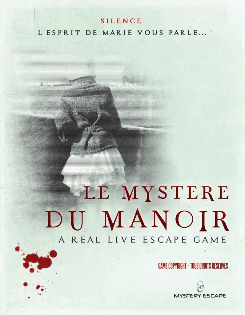 MYSTERY ESCAPE - Le Mystere du Manoir