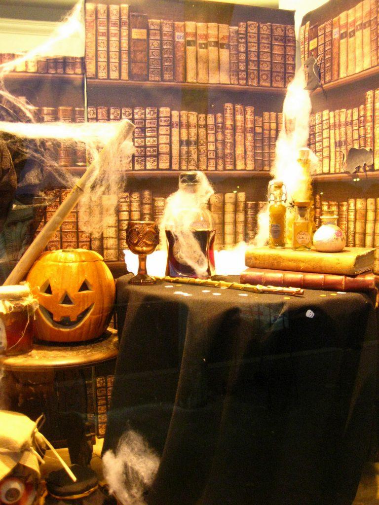 Vitrine Halloween-Halloween shopwindow