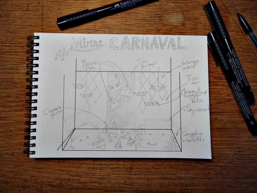 Vitrine Carnaval