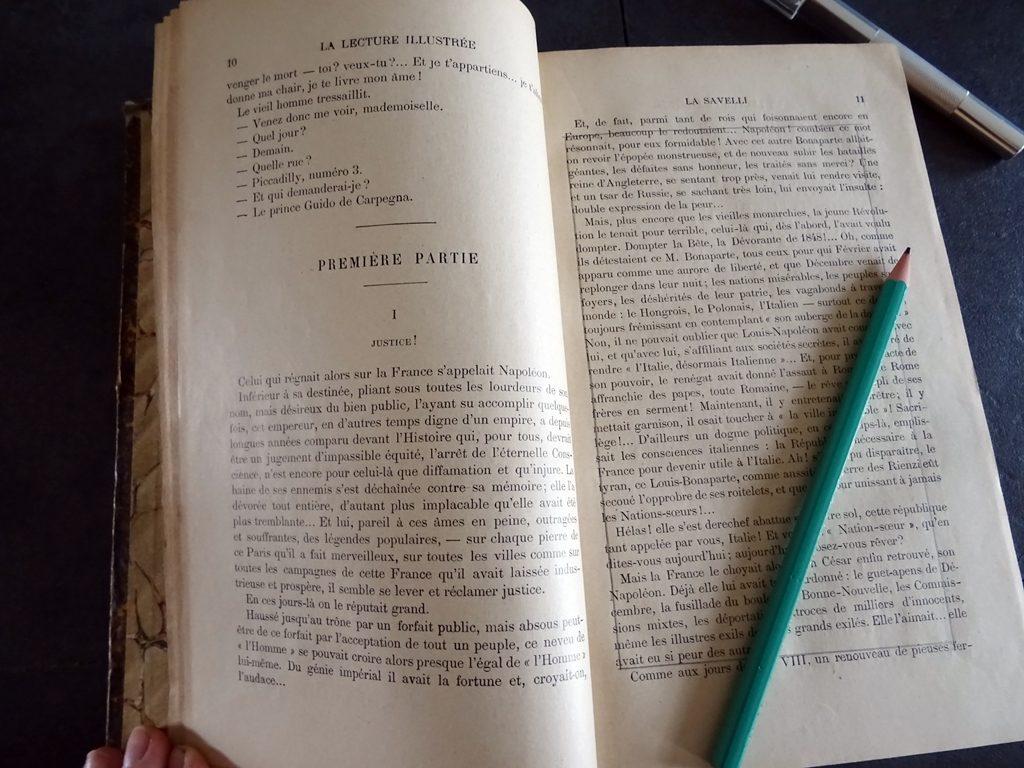 Créer un livre-cachette