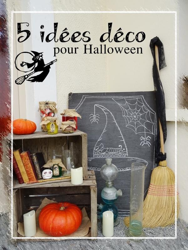 5 idées déco pour Halloween - Curieusement Bien