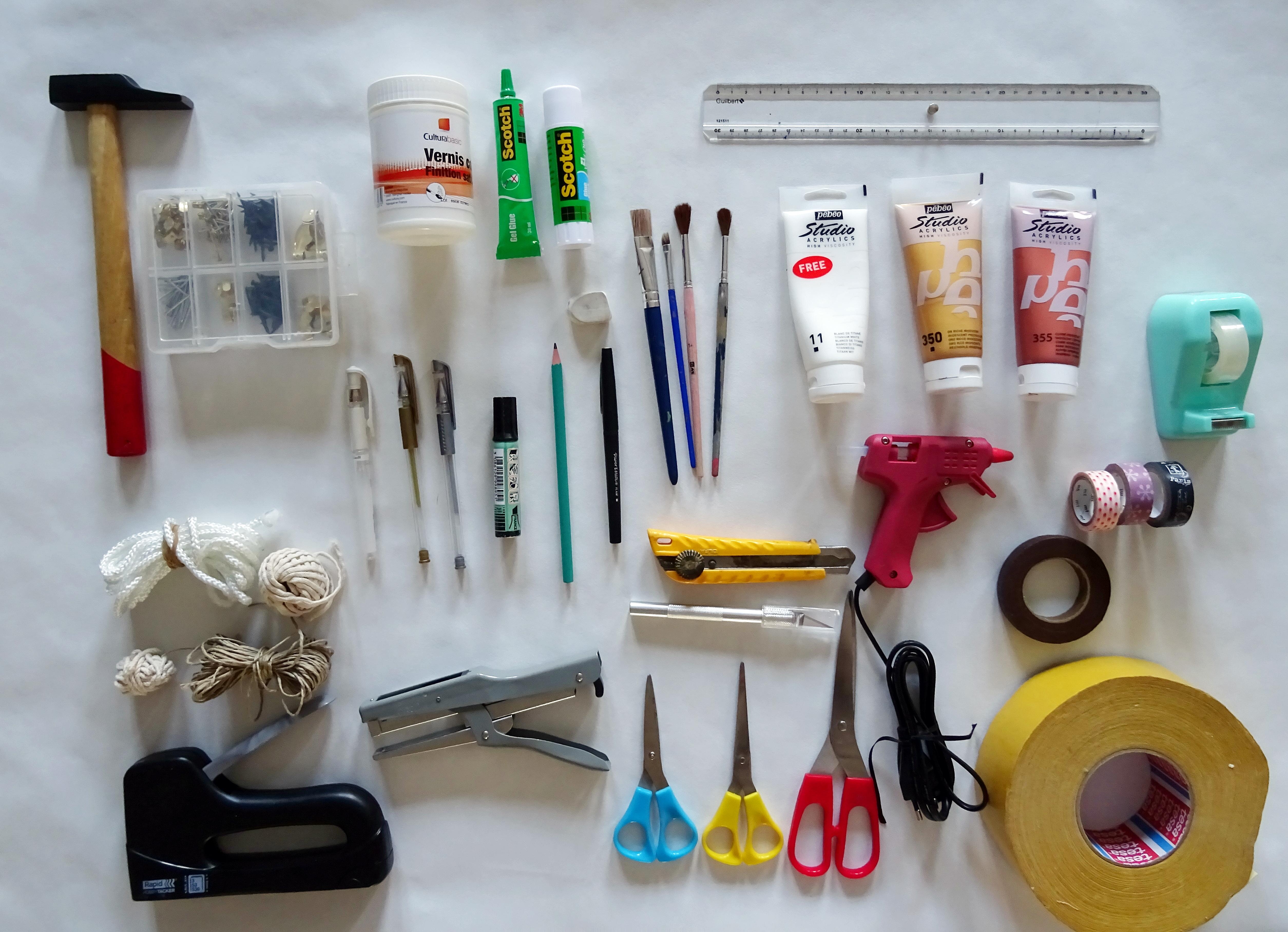 Ma caisse à outils «spécial DIY»